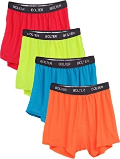 Men's 4 Pack Performance Boxers Shorts