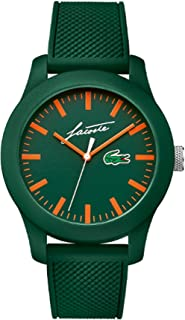 Lacoste Mens Analogue Classic Quartz Watch with Silicone Strap 2010862