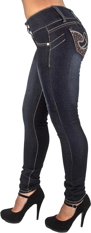 Colombian Design Butt Lift Levanta Cola Skinny Jeans Plus & Junior Size