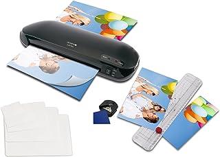 El nuevo Premium 4en 1laminación Juego de Olympia plastificadora DIN A4A230Plus con recortador, 15folios de DIN A4hasta mixtos tamaño de tarjeta de visita y redondeador