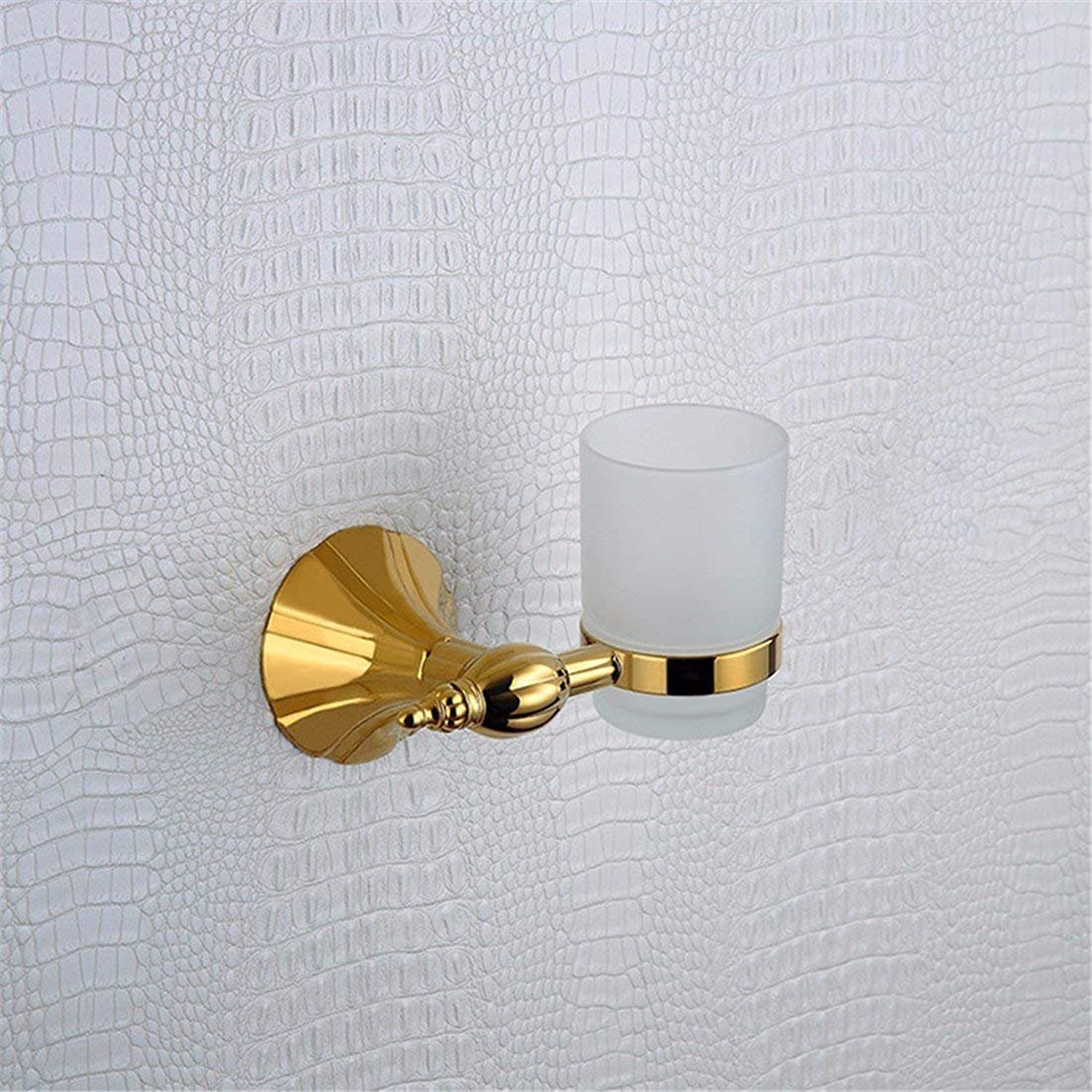European Style of Christmas Any Copper, Titanium, Base of Petals of gold, Accessories of Bathroom, Toilet, Cabinet to Brush, Toilet Paper Ring,Rack Single Cup