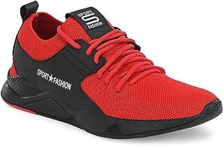 WORLD WEAR FOOTWEAR Men's (9325) Red Casual Sports Running Shoes