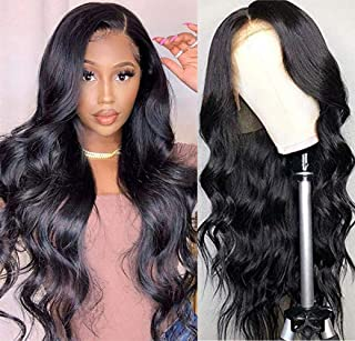 Luduna Lace Front Wigs Human Hair Body Wave Wigs with Baby Hair 9A 150% Density 100% Unprocessed Brazilian Wig Pre-Plucked...