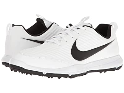 Nike Golf Explorer 2 (White/White/Pure Platinum/Metallic Silver) Men