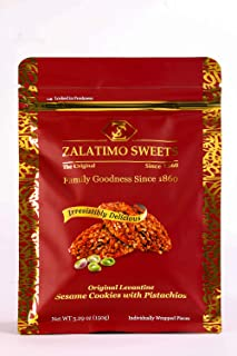 Sponsored Ad - Zalatimo Sweets Since 1860, 100% All-Natural Sesame Biscuits, Slightly Sweet, No Preservatives, No Additive...