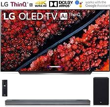 "LG OLED65C9PUA 65"" C9 Smart OLED TV w/AI ThinQ (2019) with SL9YG 4.1.2 Channel High Res Audio Sound Bar Bundle"