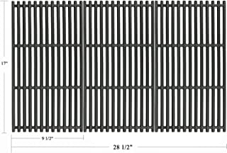 Hisencn 17 Inch Cast Iron Cooking Grates Replacement for Charbroil Commercial TRU-Infrared 463242715, 463242716, 463276016, 466242715, 466242815, Lowe's 606682, Walmart 555179228 Gas Grills, G533-0009