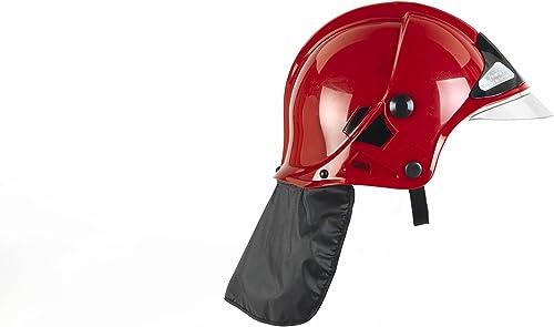Klein - 8901 - Jeu d'imitation - Casque de pompier F1 rouge avec visière escamotable et protège-nuque