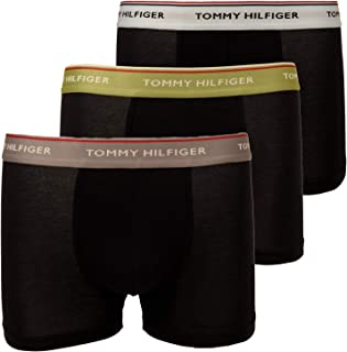 Tommy Hilfiger Men's 3P WB Trunks (Pack of 3) (pack of 1)