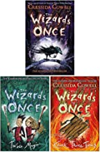 The Wizards of Once Series 3 Books Collection Set By Cressida Cowell (The Wizards of Once, Twice Magic, Hardback-Knock Three Times)