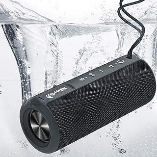 Merlin Aquatrax Bluetooth Portable Speaker Waterproof, one of the best wireless speaker for indoor and outdoor entertainme...