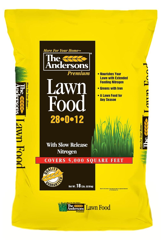 The Andersons Premium Lawn Food 28-0-12 Spring Summer Fertilizer 5,000 sq ft Bag