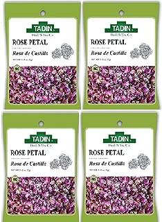 Tadin Herbs & Tea, Rosa De Castilla Rose Buds), 0.42-Ounce Cellophane Bags (Pack of 4)
