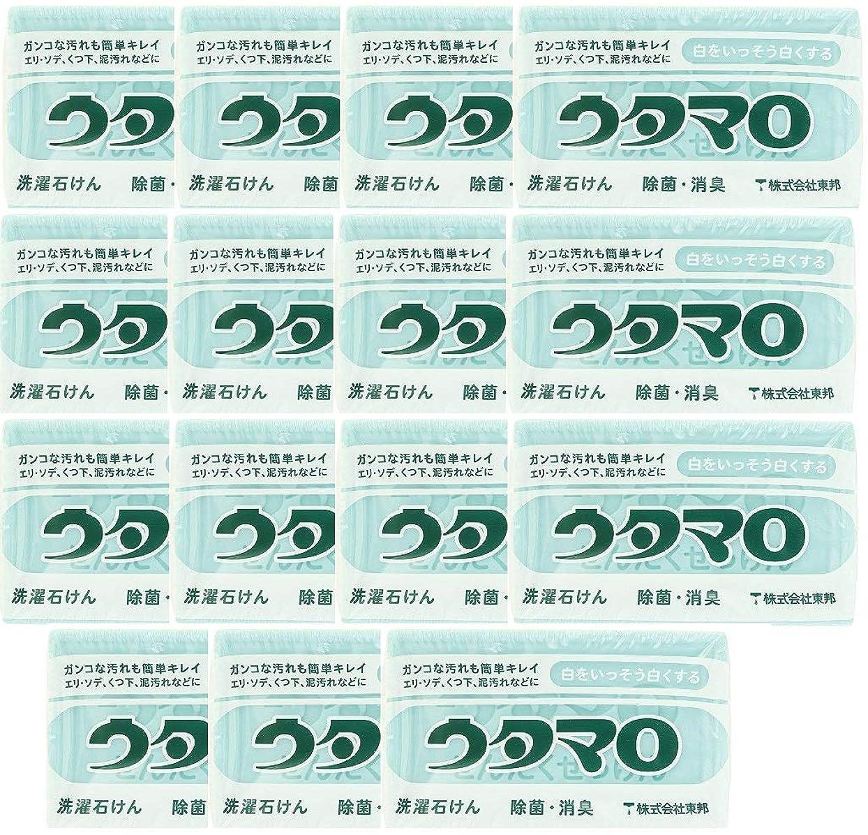 楽観的がっかりしたライド【まとめ買い】東邦 ウタマロ マホー石鹸×15個