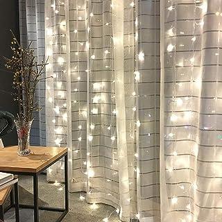 Jmllyco 300 Led Usb Window Curtain String Lights