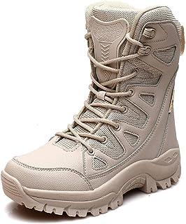 YQSHOES Bottes Homme Hiver Bottines Randonnée Trekking Chaudes Fourrées Chaussures