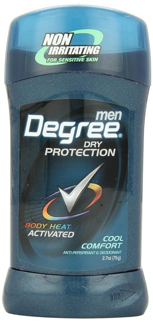 レキシコン繊維矛盾するアメリカ製 男性用 デオドラント スティック (6個セット) (クール カンフォート)Degree Men Anti-Perspirant & Deodorant, Cool Comfort 2.7 Ounce (Pack of 6) (海外直送品)