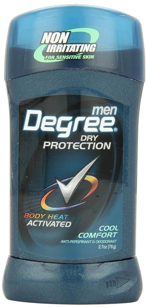 一晩骨髄救出アメリカ製 男性用 デオドラント スティック (6個セット) (クール カンフォート)Degree Men Anti-Perspirant & Deodorant, Cool Comfort 2.7 Ounce (Pack of 6) (海外直送品)