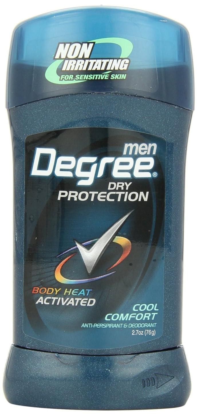 蒸留する品種断言するアメリカ製 男性用 デオドラント スティック (6個セット) (クール カンフォート)Degree Men Anti-Perspirant & Deodorant, Cool Comfort 2.7 Ounce (Pack of 6) (海外直送品)
