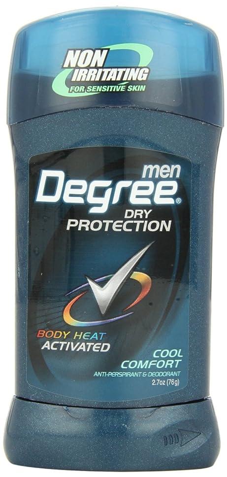 コンサルタント自由食用アメリカ製 男性用 デオドラント スティック (6個セット) (クール カンフォート)Degree Men Anti-Perspirant & Deodorant, Cool Comfort 2.7 Ounce (Pack of 6) (海外直送品)