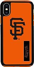 Forever Collectibles iPhone X مزدوجة هجين تأثير مرخص رسمي ً ا–جراب MLB سان فرانسيسكو جاينتس