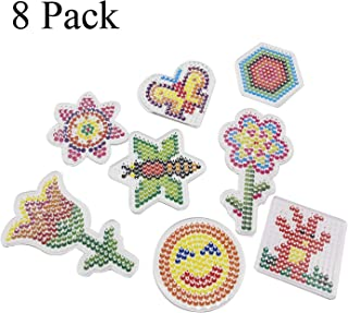 Photo Frame 5 Iron Paper H/&W Unicorn Fuse Bead Design 2 Pegboard 14 Macaron Colors 2.6mm Mini Beads for Skilled Person,with Instruction Manual WA10-Z5