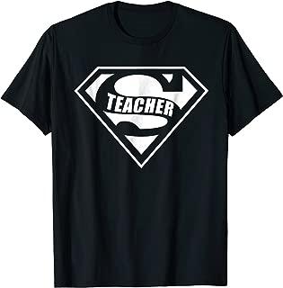 Super Teacher T-Shirt Funny Teacher Appreciation Gift Tee
