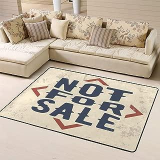 Area Rug Rugs Carpet Not Sale Vintage Stamp Badge Jeansfor Living Room Bedroom 60