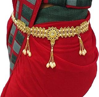 Valusha Fashion Kamar Patta for Women with Stones