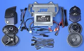J&M Audio XXRK Extreme 4 Speaker 700 Watt Amp Kit for 2014 and Newer Harley-Davidson Street Glide models - XXRK-700SP4-14SG