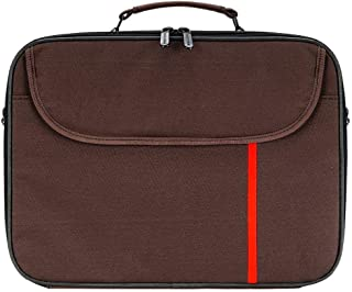 Laptop bag, Shoulder Laptop Bag size 14.1 inch, Brown DZ-2050
