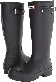Hunter Women's Original Tall Rain Boots Black 7 M US
