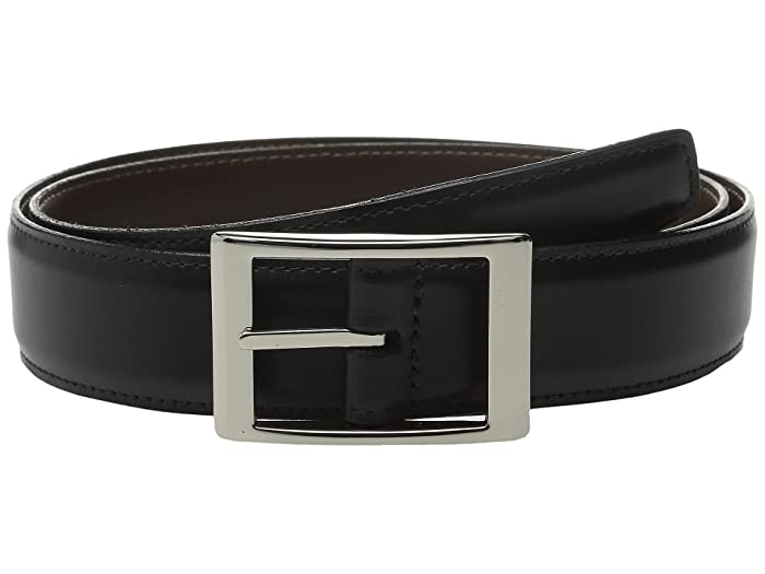 Torino Leather Co. Reversible 33MM Aniline Leather w/ Aniline Leather (Black/Brown) Belts