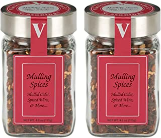 Mulling Spices- Two 4.0 oz. Jars -Blend of cinnamon, allspice, and cloves.