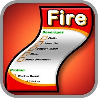 Fireman Diet Shopping List