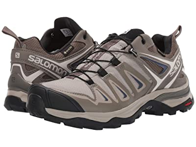 Salomon X Ultra 3 GTX(r) (Vintage Kaki/Bungee Cord/Crown Blue) Women
