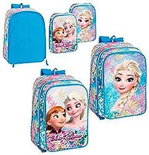 Mochila Frozen Disney Soul Bolsillos Intercambiables Grande