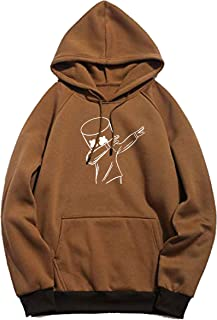WearIndia Unisex Printed Cotton Hooded Hoodie