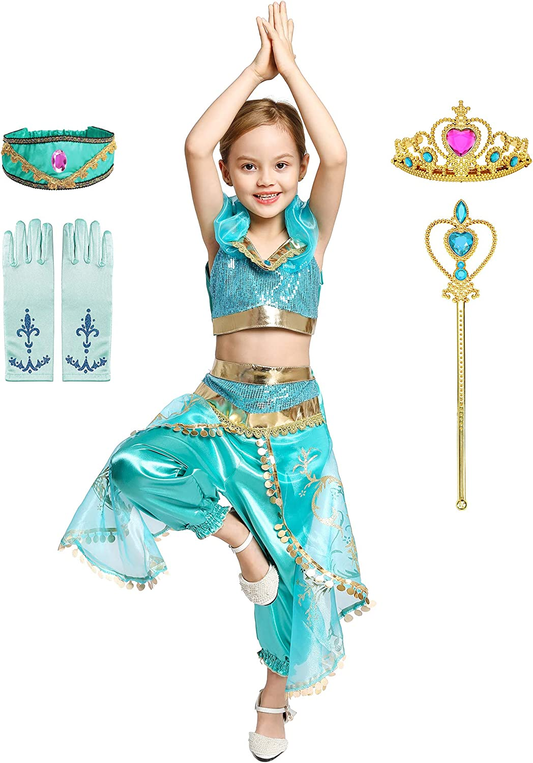 Little Girls Princess Costume Gorgeous Dress Queen High quality new Fancy Up Sales for sale Cosp