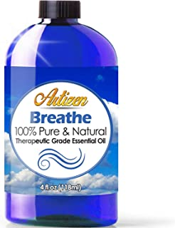 Artizen Breathe Blend Essential Oil (100% PURE & NATURAL - UNDILUTED) Therapeutic Grade - Huge 4oz Bottle - Perfect for Aromatherapy, Relaxation, Skin Therapy & More!