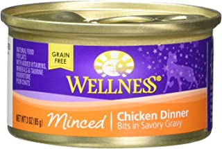 Wellness Sliced Chicken Entree Cat Food 6 cans-3oz Each