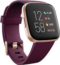 Fitbit Versa 2 - Smartwatch de salud y forma física, Burdeos, con Alexa integrada