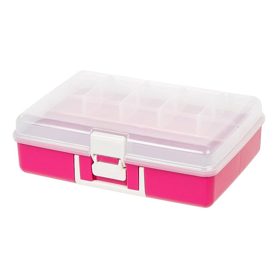 IRIS Medium Embellishment Organizer, Pink