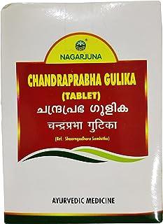 Nagarjuna Kerala Chandraprabha Gulika 100 Tab x Pack van 4