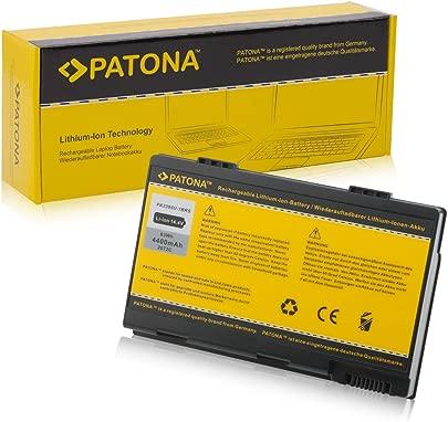 PATONA Laptop Akku f r Toshiba Satellite M30X M35X M40X Pro M40X Li-ion 4400mAh schwarz Schätzpreis : 29,99 €