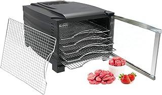 comprar comparacion Bio Chef Deshidratador de Alimentos Arizona 6 bandejas de Acero Inoxidable: Incluye: 1 Hoja Antiadherente, 1 Bandeja antig...