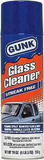 GUNK Glass Cleaner Streak Free 538 gms غنك منظف زجاج رغوة مزيل للصق