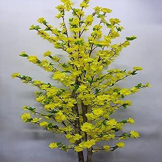 Arvore Pessegueiro Amarelo Artificial 1,70 cm Completo- 2638