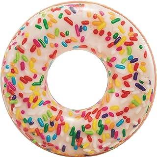 Intex Rainbow Sprinkle Donut Tube Inflatable Pool Float