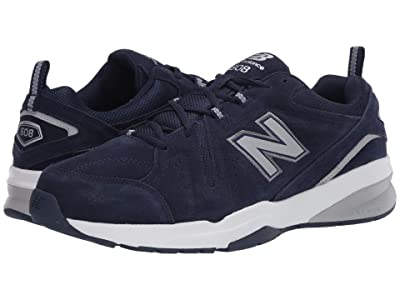 New Balance 608v5 (Pigment/Gunmetal/Silver Metallic) Men